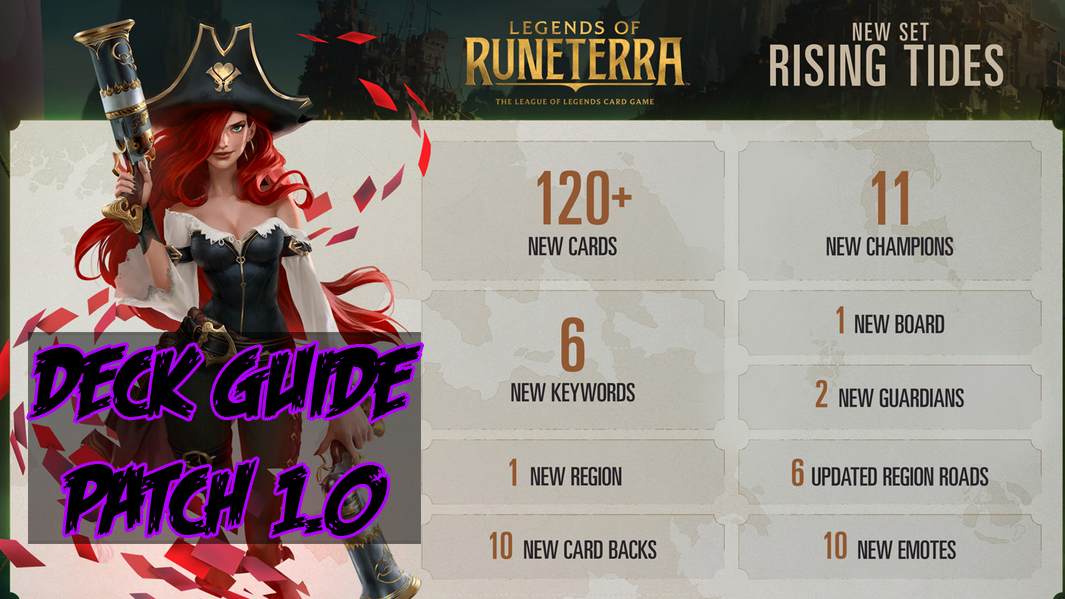 Legends of Runeterra – Deck Guide Patch 1.0